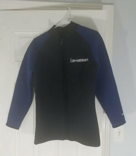 Lemorecn Adult 3mm Wetsuit Jacket Long Sleeve Neoprene Wetsu