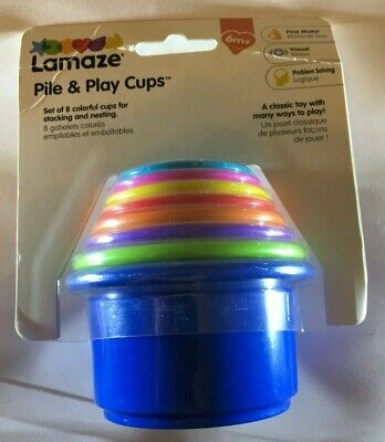 LAMAZE - PILE AND PLAY CUPS - NEW