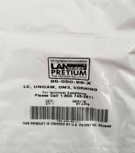 5 Pcs - Corning Unicam LC OM3 50um MM Pretium Fiber Optic Connector 95-050-99-X