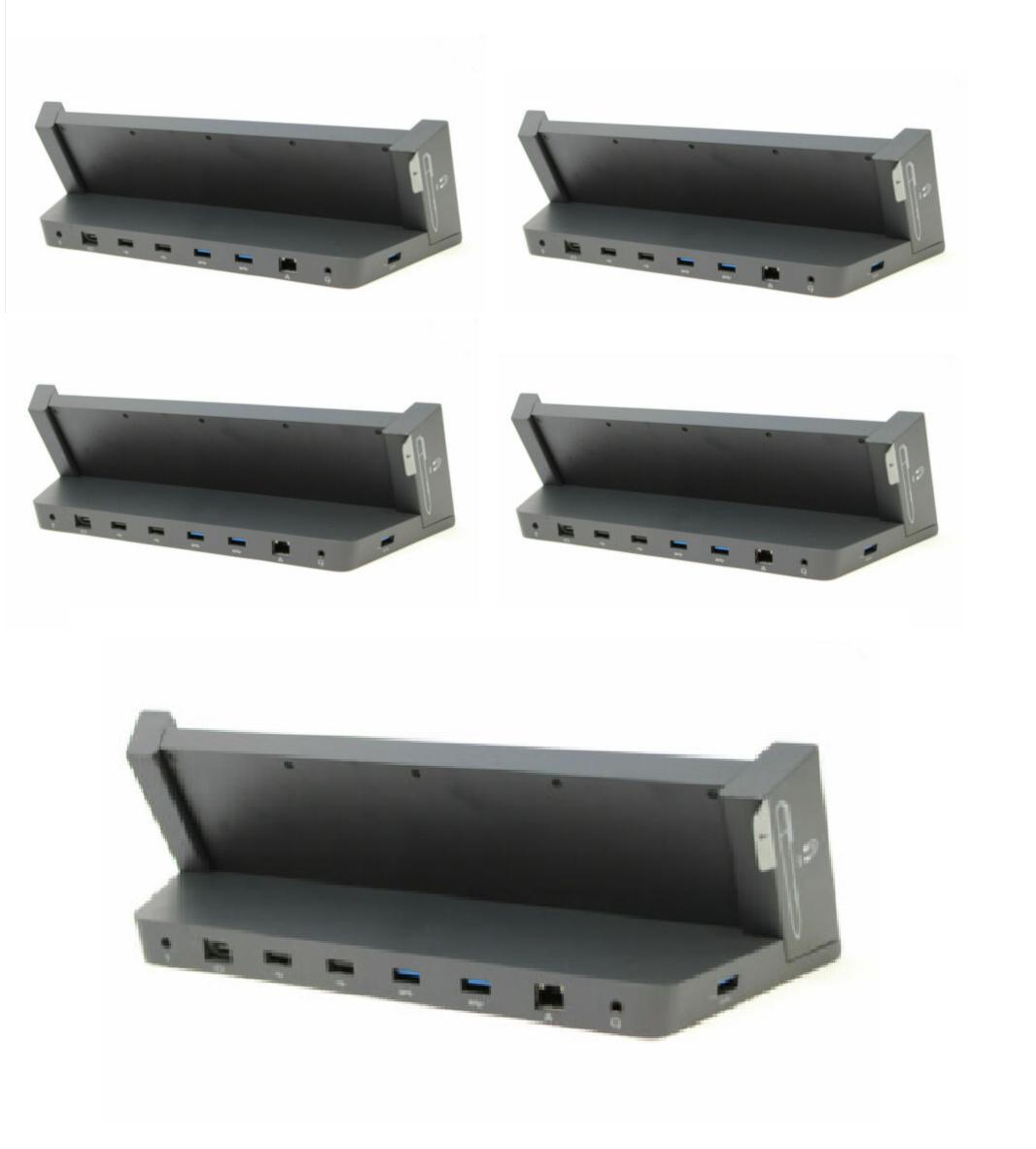 Lot 5 x microsoft surface pro docking station model 1664 for pro 3 & pro 4