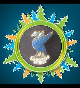 Everton Pin Badge - Blue Liverbird - The Original Est 1878 -Great Xmas Gift Idea