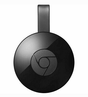 Google Chromecast 2 Digital HD Media Streamer GA3A00097-A03-Z01 Black