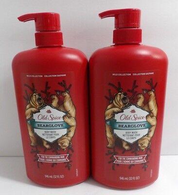 Old Spice Wild Collection Bearglove Body Wash, 32 fl oz