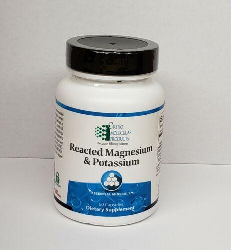 Reacted Magnesium & Potassium 60 Capsules Ortho Molecular