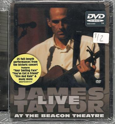 James Taylor Live At The Beacon Theatre; Sealed Live Concert DVD (James Taylor Concert Dvd)