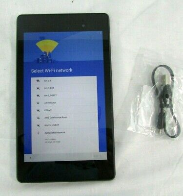 "ASUS  NEXUS 16GB  7"" Android GOOGLE Black Tablet, Tested"