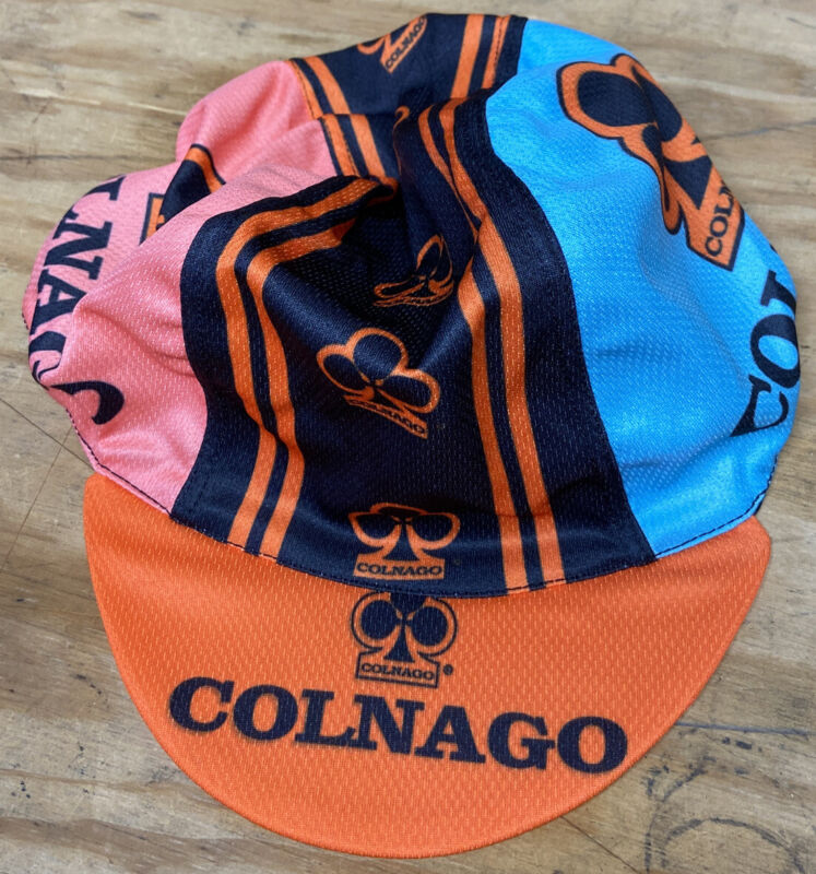 Colnago Cycling Cap Lightweight Breathable Polyester.
