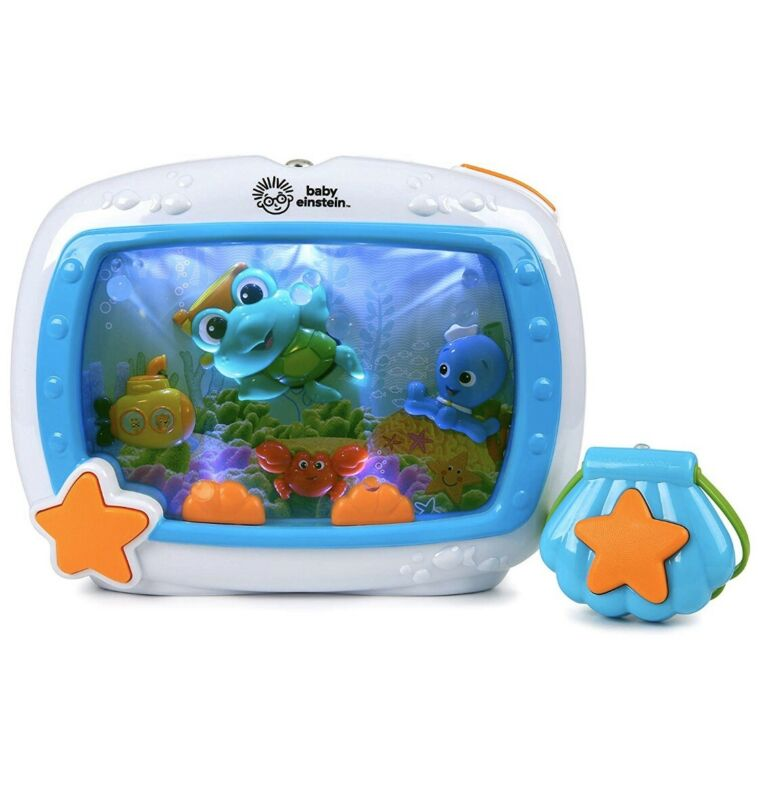 Baby Einstein Sea Dreams Soother Musical Crib Toy & Sound Machine, FREE SHIPPING