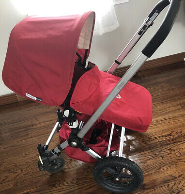 Bugaboo Frog stroller red  with BassinetAnd All Accessories