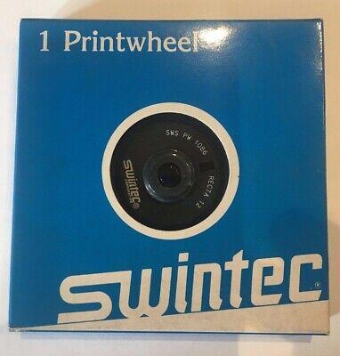 Swintec Printwheel - Recta 12 - Sws Pw 1086