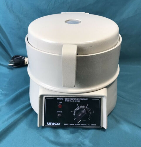 UNICO Micro Hematocrit Centrifuge Model C-MH30 With Rotor 12000 RPM