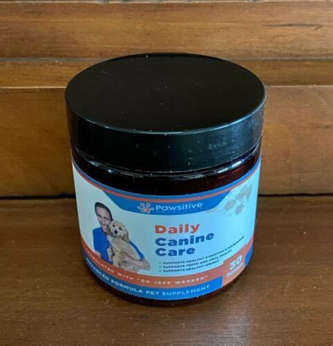 DAILY CANINE CARE - 30 Days - SEALED - VET FORMULATED - Powder 11/21 (Dr Jeff