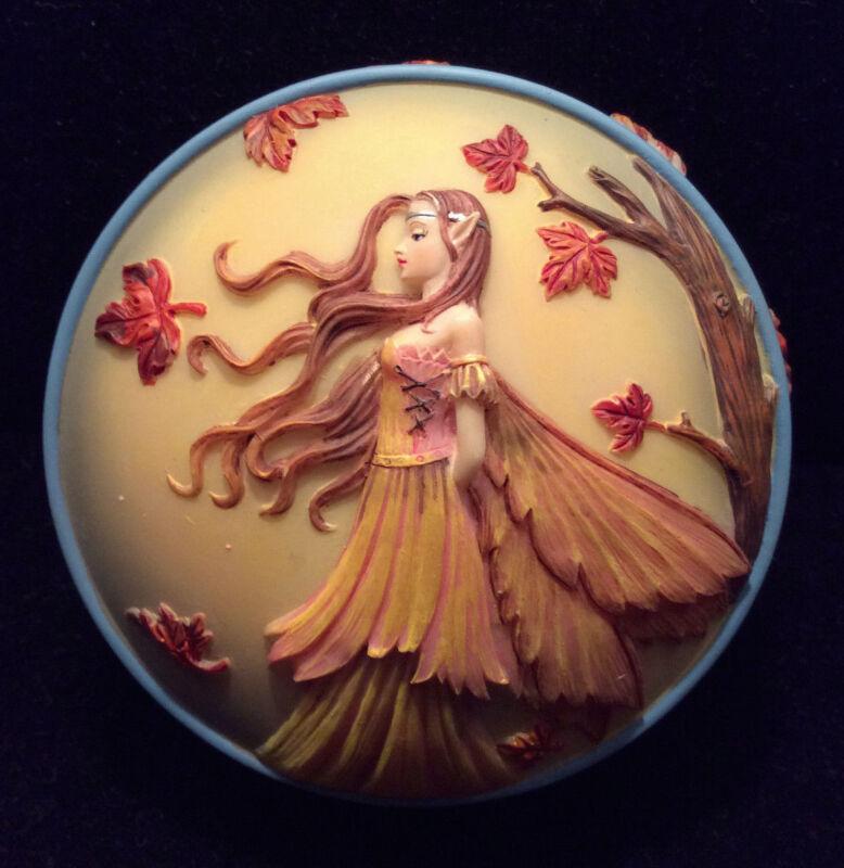 NEW Autumn Gold Fairy Box by Molly Harrison