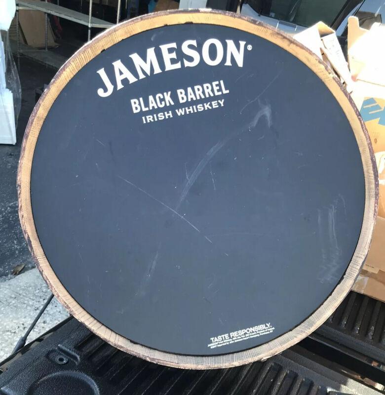 Jameson Black Barrel BAR PROMO MAN CAVE