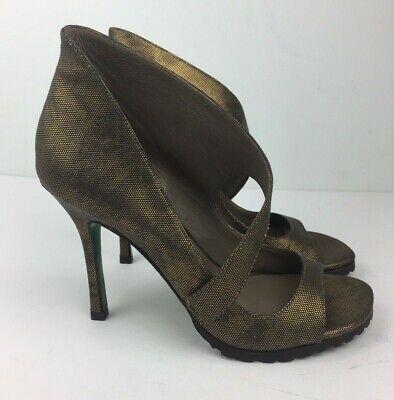 Lisa For Donald J Pliner Shoes Women's Bronze Metallic High Heel Pumps Sz 7 M Donald J Pliner High Heel Pumps
