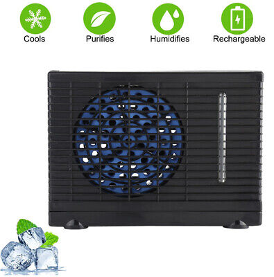 12V Air Conditioner Auto Water Evaporative Air Fan Cooling Fan  For Home Car