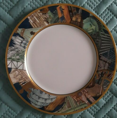 Replacement Dinner Plate By Bernardaud, Crafted In France Limoges Metropoles