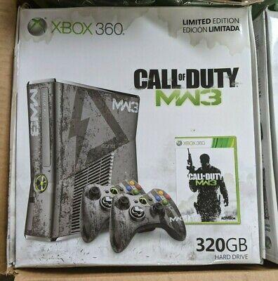 Xbox 360-S (Call of Duty: Modern Warfare 3) Limited Edition Console 320GB Damage