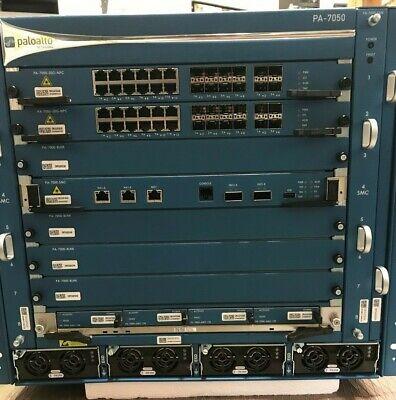 PALO ALTO PAN-PA-7050 FIREWALL APPLIANCE PA-7000-20G-NFC PA-7050-SMC AC *CR*