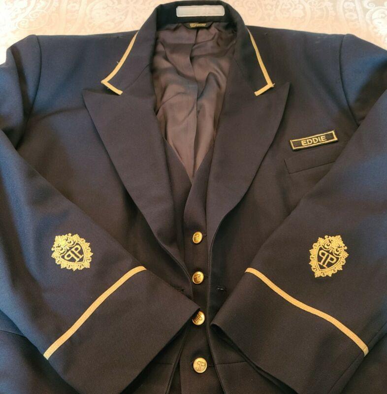 RARE The Plaza Hotel New York City NY Bellman/Doorman Coat