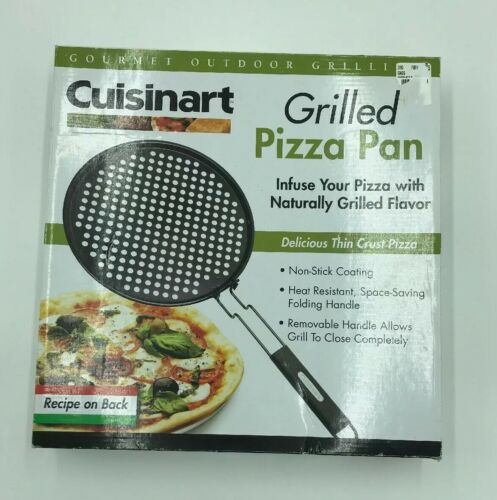 Cuisinart Perforated Pizza Grilling Pan Non Stick Coating wi