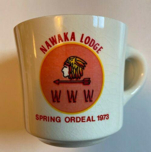 Nawaka Lodge Spring Ordeal OA 1973 Boy Scouts of America Mug