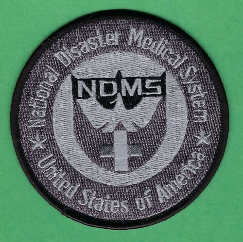 UNITED STATES NATIONAL DISASTER MEDICAL SYSTEM NDMS TACTICAL PATCH