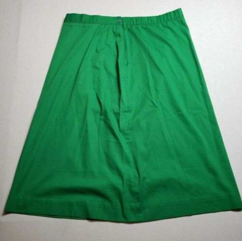 Vintage Girl Scouts Green Skirt Uniform Size 20 Leader