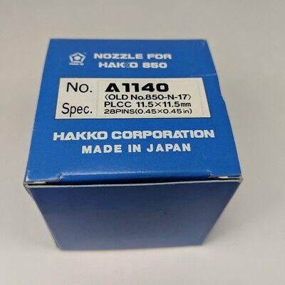Genuine Hakko A1140 Nozzle Plcc 11.5x11.5mm Soldering Desoldering Rework Tip 850