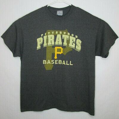 Pittsburgh Pirates Genuine Merchandise Grey Yellow T-Shirt Men's Size XL MLB  - Pirate Merchandise