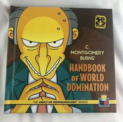 Montgomery Burns (C. Montgomery Burns' Handbook of World Domination Hardcover Simpsons)