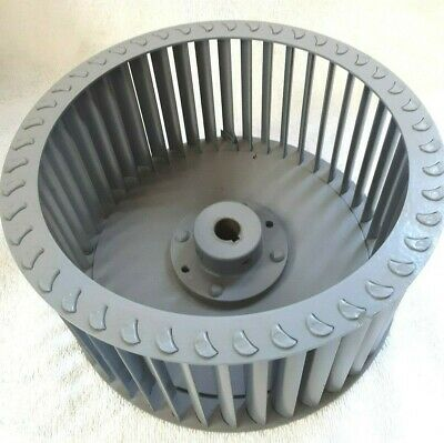 Steel Squirrel Cage Blower  Wheel 8 38od 4.0 Wide 58 Bore Cw 1800rpm