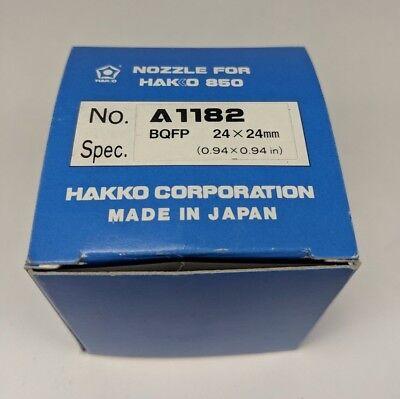 Genuine Hakko A1182 Nozzle Bqfp 24x24mm Soldering Desoldering Rework Tip 850 Smd