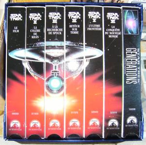 Coffret Star Trek VHS