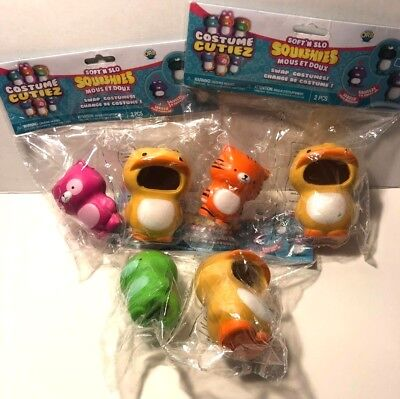 Soft'n Slo ORB DUCK Costume and DINO Character Squishies Cutiez Series 1 New](Flintstones Dino Costume)