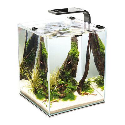 AQUAEL Aquarium SHRIMP SET 2 Nano Aquarium mit LED Beleuchtung Filter Heizer  Nano Led