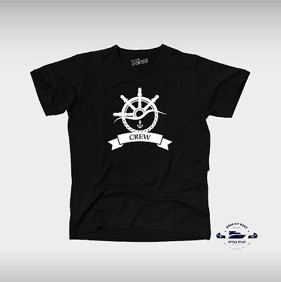 TPMB T-Shirt CREW Boot Schiff Kapitän Crew Mannschaft maritim