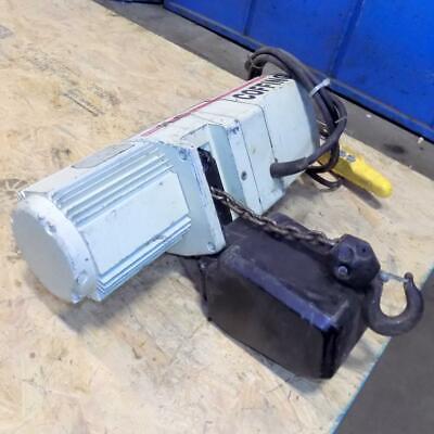 Coffing Hoists 14-ton Electric Hoist Model Jlc Worn Label