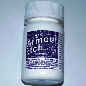 3-oz-Bottle-Armour-Etch-Glass-and-Mirror-Etching-Cream-GOOD-TRIAL-SIZE