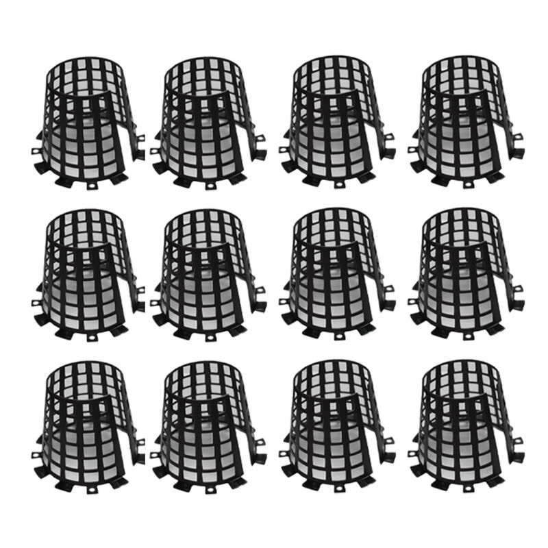 Plant Knight Tree Trunk Guard Protector for Garden Protection, 12 Pack (Black)