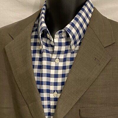 46 L Mens AUSTIN REED Sport Coat Blazer Jacket * Gray Blend ~ London England Blend Mens Sport Coat