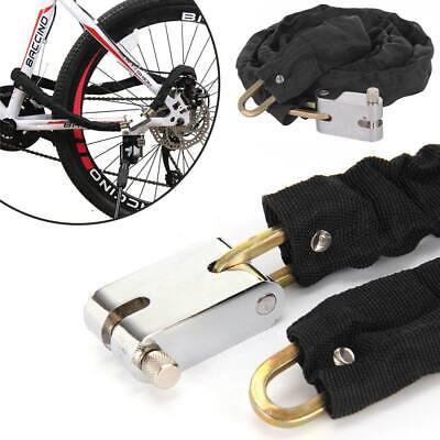 1.8M Heavy Duty cadena Lock para Bicicleta Seguridad Candado Moto Motocicleta