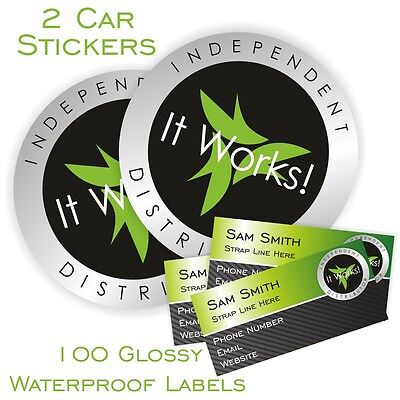 It Works Glossy Sticker Pack Car Stickers And Glossy Labels