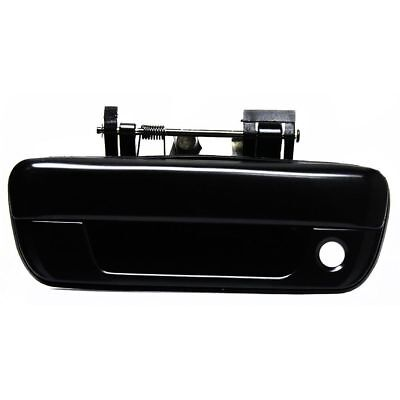Tailgate Handle Smooth Black w/ keyhole for 04-14 Chevrolet Colorado GMC Canyon