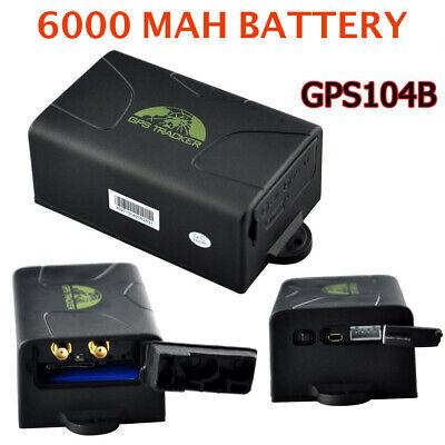 Localizador con bateria TK104 GSM/GPS SMS SOS Alarma de Coche con Control...