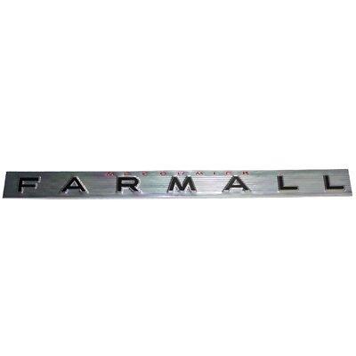Mccormick Farmall Side Emblem Farmall 460 560 369117r1