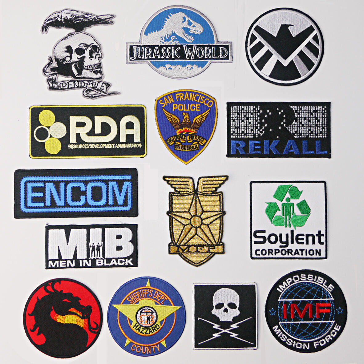 GREAT MOVIE PATCHES Great Iron-On Patch Series Great Movies Great Price - NEW