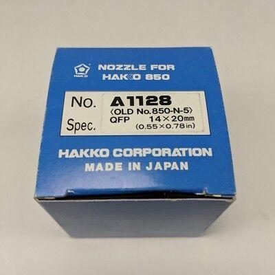 Genuine Hakko A1128 Nozzle Qfp 14x20mm Soldering Desoldering Rework Tip 850-n-5