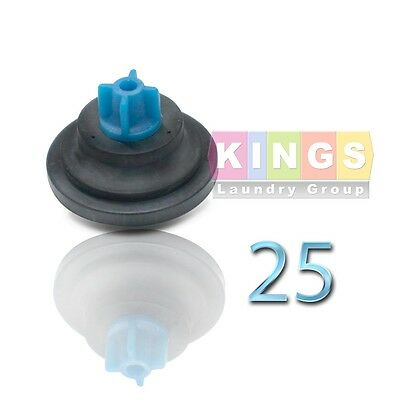 25pk Diaphragm For Wascomathuebschspeed Queenunimac Washer 823492