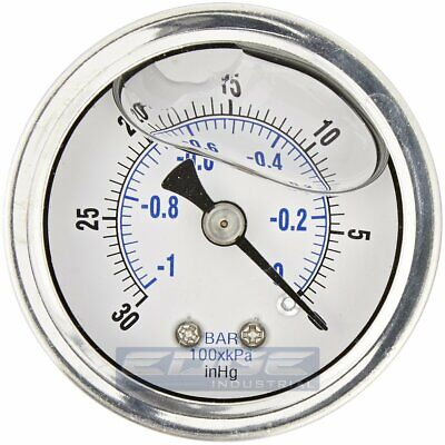 Manometer 0-10 Bar G 1//4 63mm Connection REAR NEW 0189